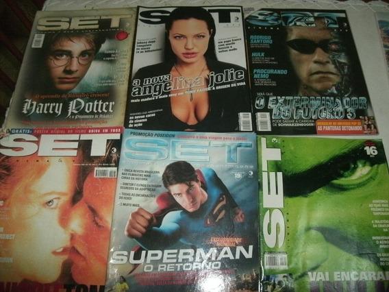 Abaixou ! Lote Revistas Set - Ótimo Estado!