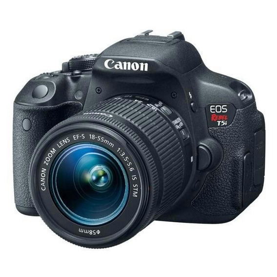 Câmera Canon Eos Rebel T5i 18-55mm Is Stm Leia O Anuncio!
