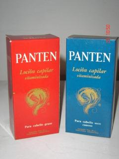 Antigua Locion Capilar Vitaminizada Panten 90 Cc