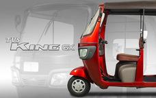 Motocarro Tvs King 200cc Circula Diario Adaptable Para Carga