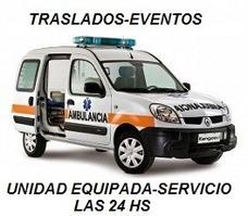Ambulancias Traslados Cobertura De Eventos 24hs Tarjetas