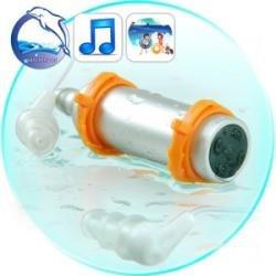 Reproductor Mp3 Con 4gb Contra Agua Sumergible De Natacion