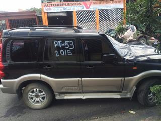 Mahindra Scorpio Gex 2012 Turbo Diesel Solo Para Repuestos