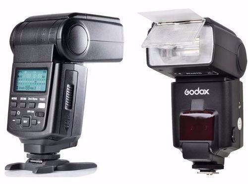Flash Speedlite Godox Tt685-c Gn58 Ttl Para Cameras Canon