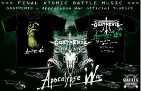 Goatpenis Camisa - Apocalypse War Blasphemy Sarcófago