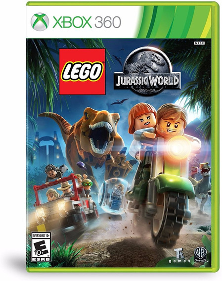 Lego Jurassic World Xbox 360 Disco Fisico