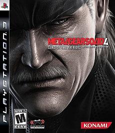 Metal Gear 4 Guns Of The Patriots Ps3
