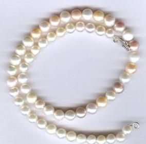 48125946ea86 Collar Perlas Naturales Akoya en Mercado Libre México