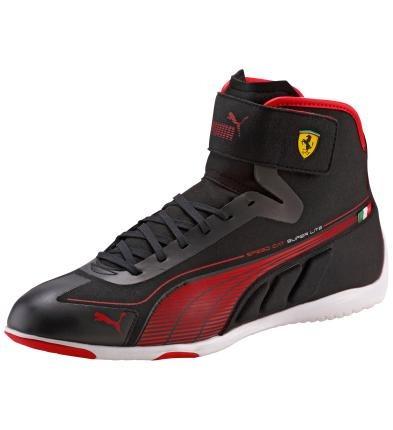 da4760d6 Tenis Puma Speed Cat Ferrari Super Lite Bota Negro Rojo Gym ...