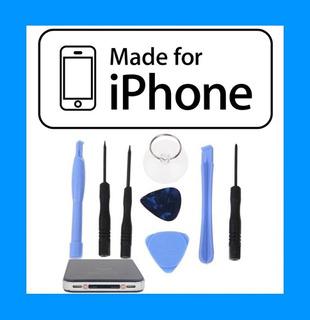 Kit 8 Ferramentas, Chaves Abrir iPhone 4 4s 5 5c 5s 6 6 Plus