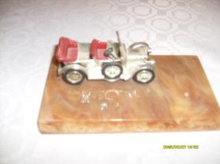 Carrito Coleccionable En Miniatura Modelo Años Cincuentas