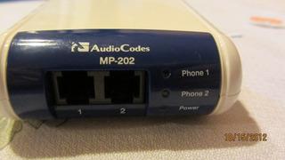 Adaptador Voip Audiocodes Mp-202 2 Lineas
