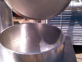 Marmita Groen De 227 Lts A Gas Butano Con Mueble Y Chaquet