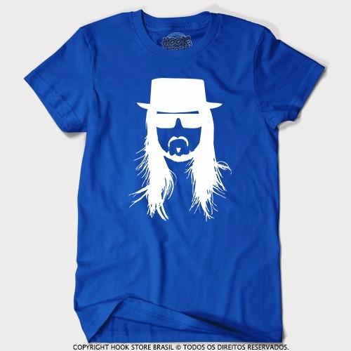 Camiseta Masculina Dj Steve Aoki - Breaking Bad - Nova