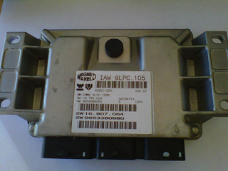 Ecu ( Computador ) Peugeot 207 1.6 Cc. Magneti Marelli