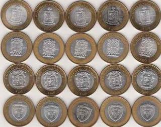 Monedas Estados 100 Pesos Etapa 1 (escudos )!!