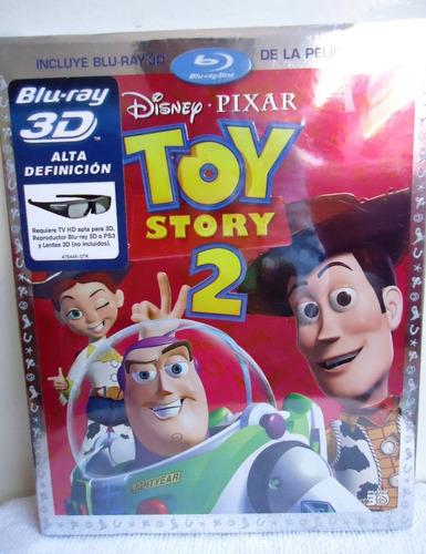 Toy Story 2 3d Blu Ray Nuevo Original Sellado