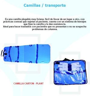 Camillas Plasticas Liviana Plegable Brigada Rescate Medellin