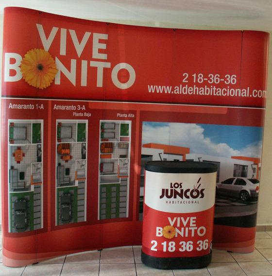 Displays Banner Stand Portatil Curvo Grafico Cama Plana Maa
