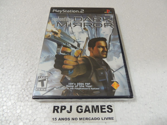 # Syphon Filter Dark Mirror Original Lacrada P/ Ps2 Frete 8