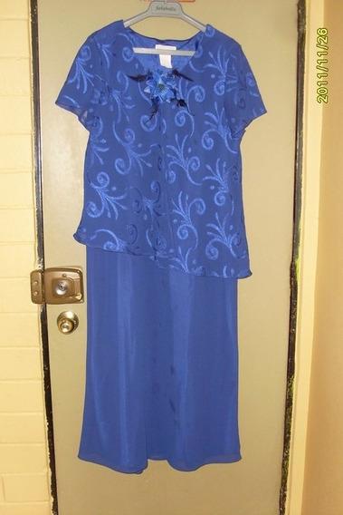 Precioso Vestido De Fiesta Talla 48