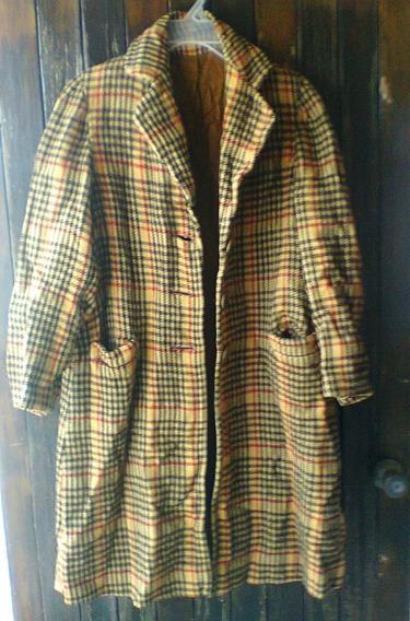 Ropa 02 De Los 70s Abrigo/dama Vintage ,retro Coleccion