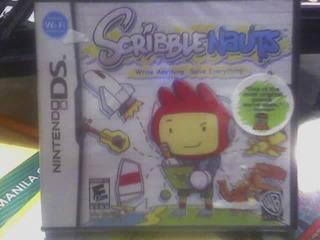 Scribblenauts De Nintendo Ds Nuevo Sellado Nxv