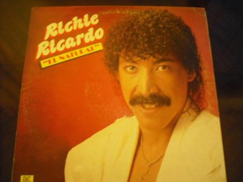 Vinilo Lp De  Richie Ricardo  El Natural (u153