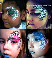 Maquillaje Artístico - Peinados - Spa De Nenas - Talleres -