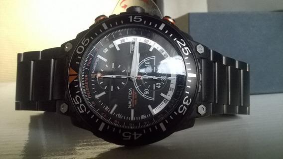 Relógio Nautica - Exclusivo - Preto
