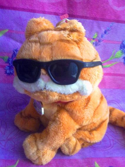Garfield Con Lentes De Peluche De La Nueva Pelicula Marca Ty