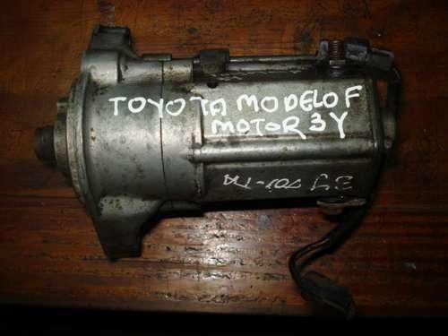 Motor De Arranque De Toyota, Modelo F, Motor 3y, Gasolina De