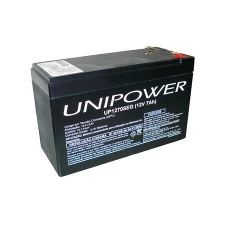 Bateria Selada 7,0 A/h 12v Alarme Nobreak