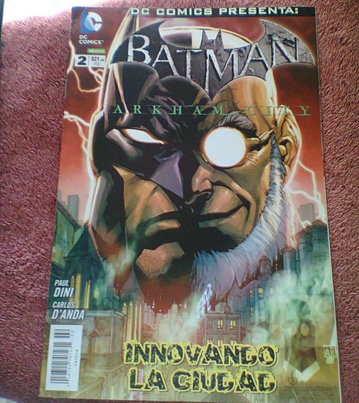 Batman Arkham City# 2 $100 Televisa Dc Comics Mexico Batman