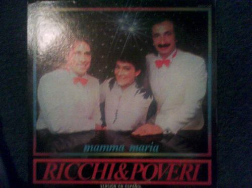 Imagen 1 de 1 de Disco L.p De Ricchi & Poveri