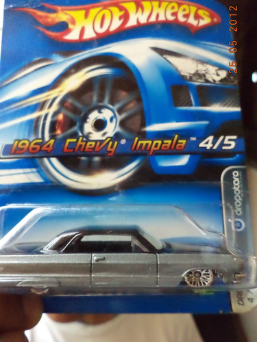Hot Wheels Chevy Impala 1964 Dropstar Edición 2006 Sellado