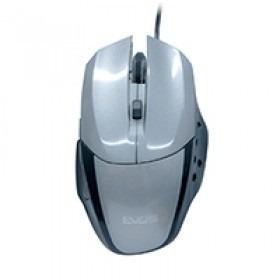 Mouse Óptico Gamer Evus Precision Cinza Usb 1.600dpi