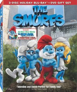 Película Blu-ray Original The Smurfs - Los Pitufos Slipcover