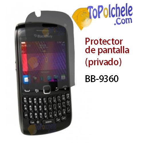 Protector De Pantalla ( Privacy ) Para Bb 9360, Nuevo