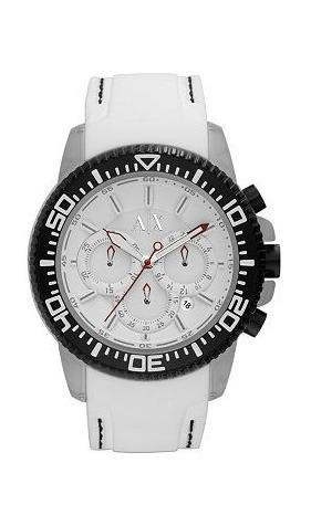 49ca0a08b379 Increible Reloj Armani Exchange Color Blanco Para Caballero ...