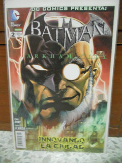 Batman # 2 Arkham City Dc Mexico Comics