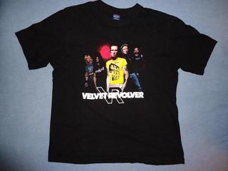 Polera Velvet Revolver, Show Chile 2007 --- Guns N
