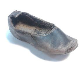 Zapato Antiguo Niña 1880 1890 Salitrero