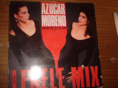 Vinilo Maxi Single De Azucar Moreno   Aunque Me Falte  (u257