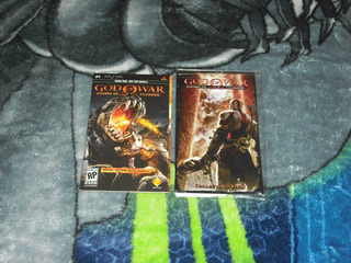God Of War Demo Y Collectors Item Chains Of Olimpus Psp