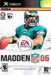 Ea Sports Madden Nfl 06 Xbox
