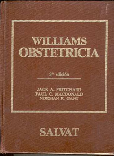 Pritchard. William. Obstetricia. 1993.