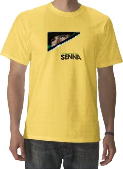Remeras Ayrton Senna Casco Formula 1 Retro 100% Algodon