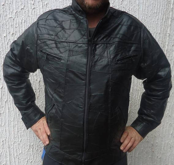Casaco Couro Legítimo Jaqueta Masculino, Retalhos Fabricante