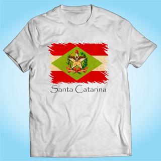 Camisa Santa Catarina - Bandeira - Brasil - Personalizada